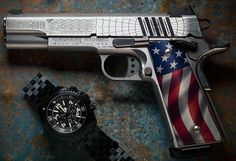 Cabot's American Joe the Red White and Blue 1911article in Guns.com