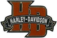 Harley Davidson Chenille Monogram Patch (3xlarge) $39.95 http://bikeraa.com/harley-davidson-chenille-monogram-patch-3xlarge/