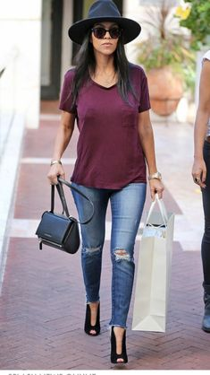 Love the shoes with the jeans