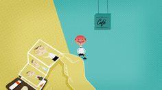 """Esta pieza de animación ilustra como el servicio """"Transferencia a Cajero"""" de Bankinter puede salvarnos de situaciones embarazosas.  This animation shows how the service """"Transferencia a Cajero"""" of Bankinter can help us to avoid embarrasing situations."""