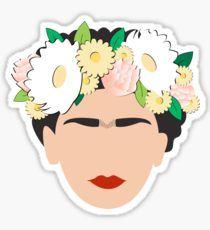 Frida Khalo 2.0 Pegatina