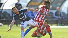 Melbourne Victory v Atletico Madrid: A-League side beat youthful Atletico team - BBC Sport