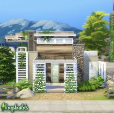 Maxis, Sims 4, Mansions, House Styles, Manor Houses, Villas, Mansion, Maxi Skirts, Palaces
