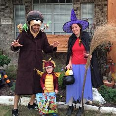 Room On The Broom Family Costume! The Witch, Dragon As Mean As Can Be Part 71