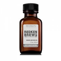 Redken Brews Mens Beard Oil Groom your beard. Redken Brews skin and beard oil softens facial hair and the skin beneath so your beard looks and feels great. Made from natural ingredients including avocado oil and olive fruit oil. Skip a step in yo 212 Vip, Mens Beard Oil, Man Beard, Martina Gebhardt, Aloe Vera, Lotion, Oils For Men, Beard Look, Male Grooming