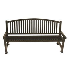 6 Plastic Coated Outdoor Bench with Bow Back #outdoorfurniture | National Business Furniture