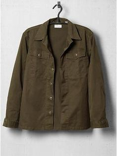 Army/military shirt jacket...always a good look.