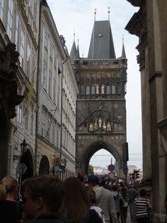 auf dem Weg von der astronomischen Uhr zum Hradschin gefunden - Tor zur Karlsbrücke