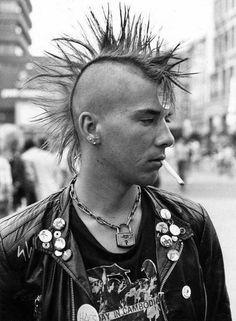 stayfree70: Punk Mohawk