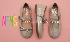 Metallic leather Mary Janes from NENS for communion 2018. Their modern and elegant design make them the perfect choice for this communion and valid for any event or time of year #nens #maryjane #communion #comunion #kidsfashion
