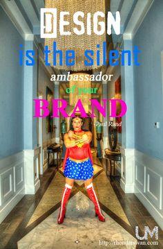 Design is the silent ambassador of your brand - Paul Rand #BeUnstoppable #mediaandcity #brandit #UnstoppableMomma #Entrepreneur @bonniebruderer (@mediaandthecity) @rhondarswan @askbonbon