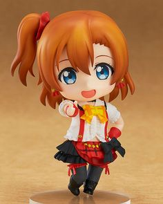 Nendoroid Honoka Kousaka on Crunchyroll Site, so Cute this Anime Doll.  :-)