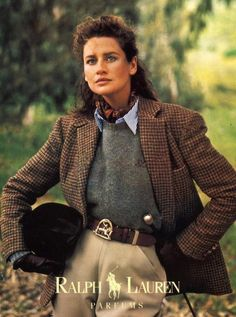 Old Ralph Lauren Adverts Old Ralph Lauren Adverts - Effort and timeless country style<br> Looks Chic, Looks Style, Moda Mormon, Preppy Style, Style Me, Classic Style, British Country Style, British Style Outfits, Country Style Fashion