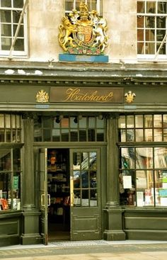 Hatchards bookshop, London  ( wonderful book store)