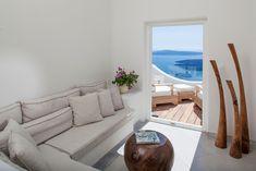 Native Eco Villa Rental in Santorini