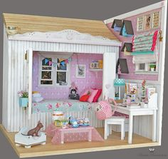 OOAK Diorama Happy Bunny 00 | by Bimba Bambolina (Yolanda)