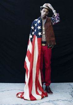 yes wiz. you are the poster child for american pride.