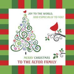 14x14 Christmas Canvas © Unlock My Story LLC