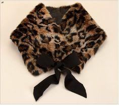 Useful DIY Winter Fashion Crafts - fur tippet