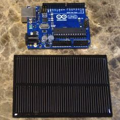 A Solar Powered Arduino Uno