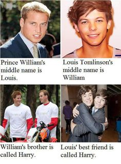 There is no coincidence in this... It was all set up so I am sorry but they are both princes and all directioners have known it all along!