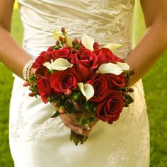 Wedding Bouquets | Red Bouquets