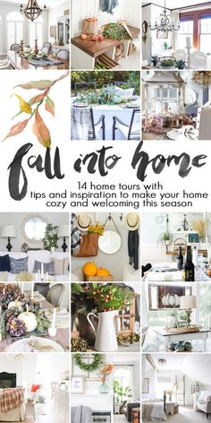 fall decor ideas: 14 blogger fall home tours with tips and inspiration for a…