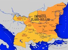 Imperiul Vlaho-Bulgar, un surprinzator episod istoric medieval History Of Romania, Old Maps, Bosnia, History Facts, Bulgaria, Bart Simpson, Youtube, Fictional Characters, Maps
