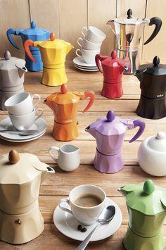 #Caffettiera #AROMA, rispetta la tradizione con un tocco di #colore