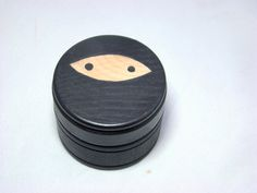 IN STOCK SALE  Ninja Tooth Box Hand Painted Wood Box by Pegged, $10.00