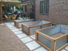 Vegetables Garden Bed Ideas 201930 Simple Raised Vegetables Garden Bed Ideas 2019 Raised Bed with Galvanized Tin. A raised garden bed can make gardening much easier for those with bad soil and or bad backs! How to Build Raised Garden Beds Diy Garden Bed, Garden Boxes, Herb Garden, Garden Planters, Garden Art, Raised Garden Bed Plans, Raised Beds, Raised Bed Gardens, Raised Bed Garden Layout