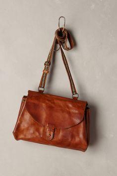 Yamilet Leather Satchel - anthropologie.com