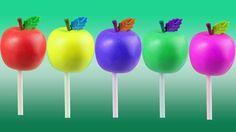 Apple Lollipop Finger Family Nursery Rhyme | Apple Finger Family Songs | Daddy Finger Songs