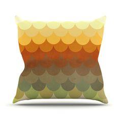 Scallop Throw Pillow