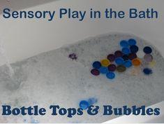 Bottle Tops & Bubbles {learning4kids.net}