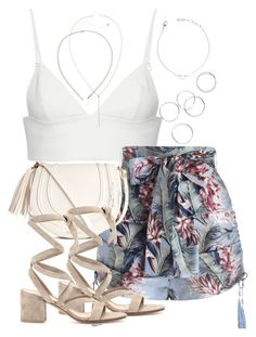 """""""Untitled #3778"""" by theeuropeancloset on Polyvore featuring T By Alexander Wang, Zimmermann and Gianvito Rossi"""