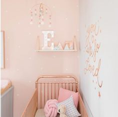 4 Great Baby Room Ideas - Little letter designs #nursery #babyroom