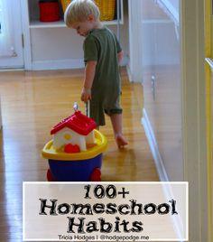 100+ Helpful Homeschool Habits at Hodgepodge