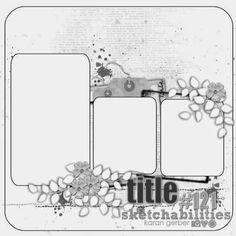 Sketchabilities: Sketch #121- Designed by Karan Gerber