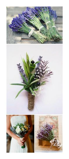 Rustic Wedding Boutonniere: rosemary, catnip - dried oat flowers and baby's breath - black and white guinea feather - jute stem wrap Floral Wedding, Wedding Bouquets, Rustic Wedding, Wedding Flowers, Boutonnieres, Feather Boutonniere, Wedding Boutonniere, Lavender Bouquet, Lavender Boutonniere