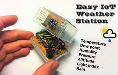 Picture of Easy IoT Weather Station With Multiple Sensors