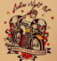 illustration biker - Cerca con Google