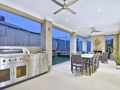 outdoor living areas image: bbq area, tiles - 185316