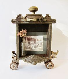 Sassytrash: New assemblage art ~ using architectural salvage, vintage hardware, and wire