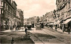 Broad Street, Reading, England c1900