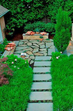 Modern Landscape Design, Landscape Edging, Contemporary Landscape, Beach Landscape, Tropical Landscaping, Modern Landscaping, Backyard Landscaping, Landscaping Ideas, Garden Stones