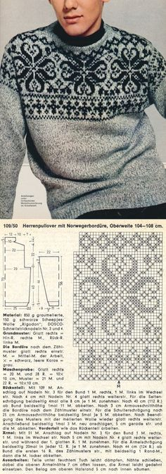 ☲ FREE PATTERN ☲      I THINK MY HUSBAND WOULD LOVE THIS SWEATER.