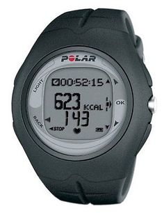 New Polar F6 Men's Heart Rate Monitor Watch (Black)