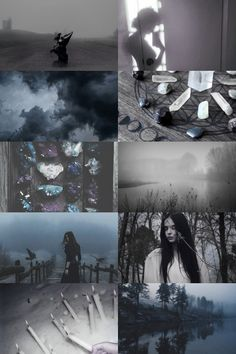 calm before the storm witch aesthetic { more here } { request here }