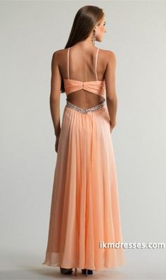 http://www.ikmdresses.com/2014-Strapless-Pleated-Bodice-Open-Back-A-Line-Chiffon-Prom-Dress-With-Spaghetti-Straps-Floor-Length-p84198